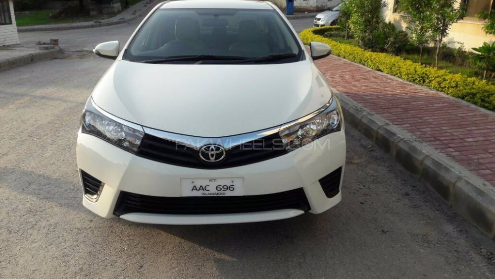 Toyota Corolla XLi VVTi 2016 for sale in Rawalpindi