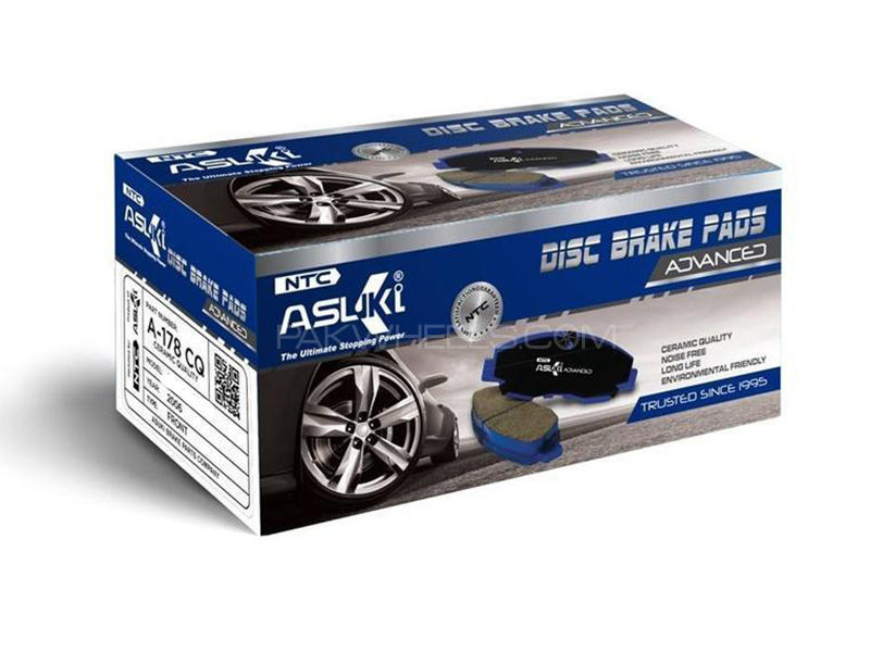 Toyota Vigo Camp 4x4  Asuki Advanced Brake Pads front Ceramic Technology a-83 ad Image-1