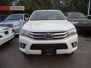 BRAND NEW TOYOTA REVO 2700 CC PETROL THAILAND MADE.  The car is parked at AUTOMALL near LAL QILA opposite AWAMI MARKAZ at shahrah-e-Faisal road karachi.   Call/SMS in office hours only, if we don't respond just drop us a message.   OUR OTHER STOCK IS FULLY UPDATED ON FACEBOOK AS WELL.Just write automallpk in your search option.  Thank you  AUTOMALL.