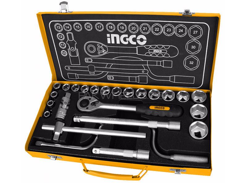 "Ingco Socket Set 1/2"" 24pcs in Lahore"