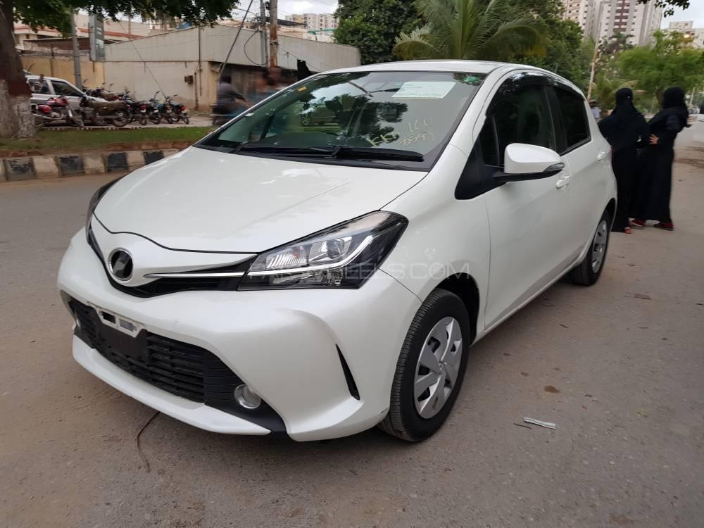Used Toyota Vitz for Sale at Car Capital Karachi ...
