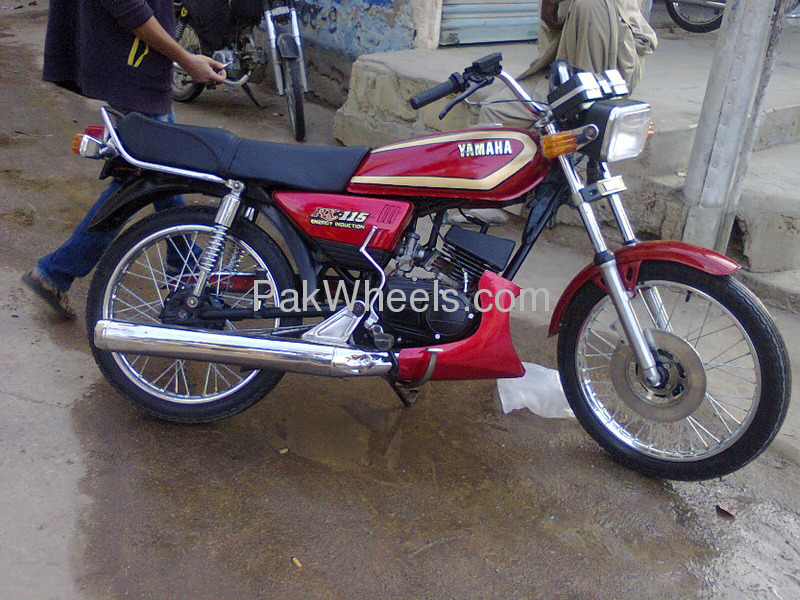 used yamaha rx 115 2013 bike for sale in karachi 100548