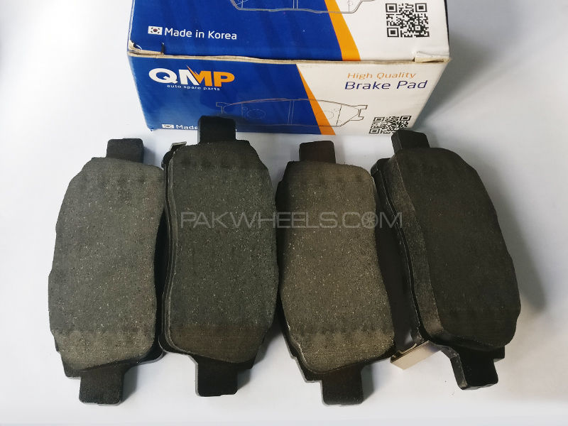 QMP Rear Toyota Corolla 2002-2008 Brake Pads - Korean  in Lahore