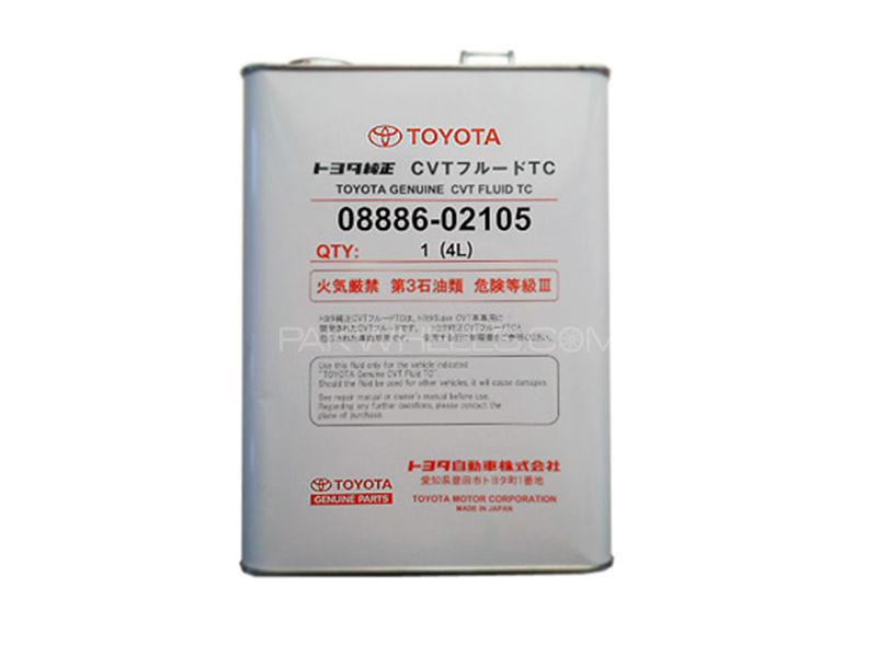 Toyota TC Automatic Gear Oil For 2015-2017 - 4L Genuine Image-1