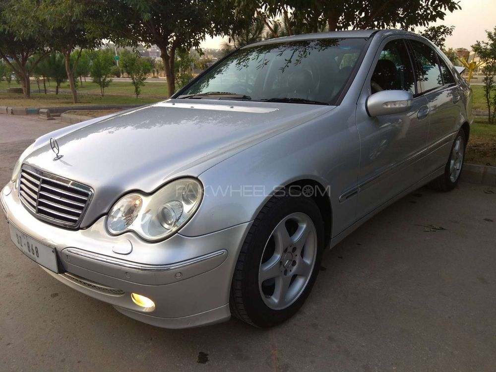 Mercedes benz c class c200 cdi 2002 for sale in rawalpindi for 2002 mercedes benz c class