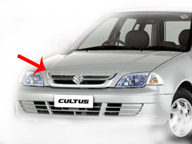 Suzuki Cultus Efi 2008-2014 Chrome Patti LH+RH (2PC Set) SKI in Lahore