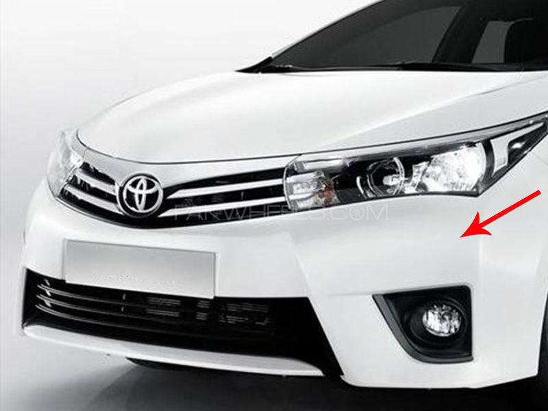 Toyota Corolla Genuine Front Bumper Xli, Gli, Altis 2014-2017 Image-1