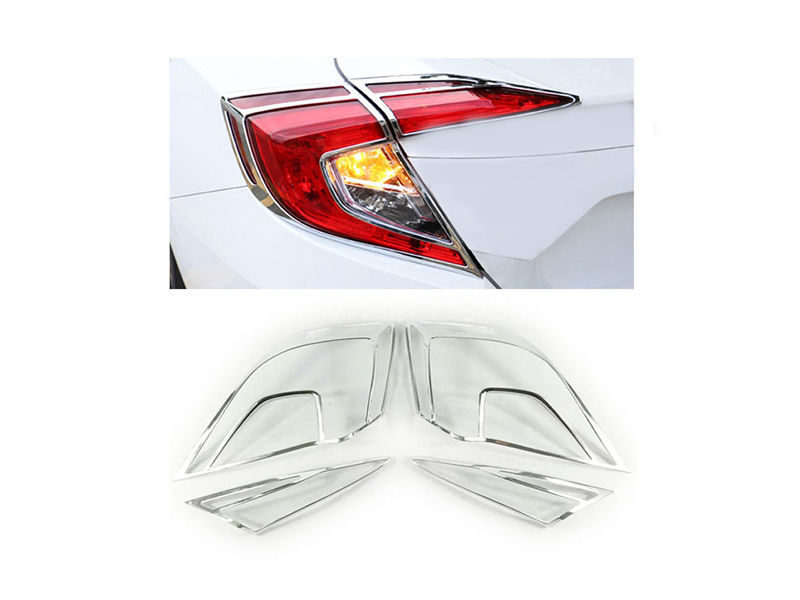 Honda Civic 2017 Tail light Chrome Trim in Lahore