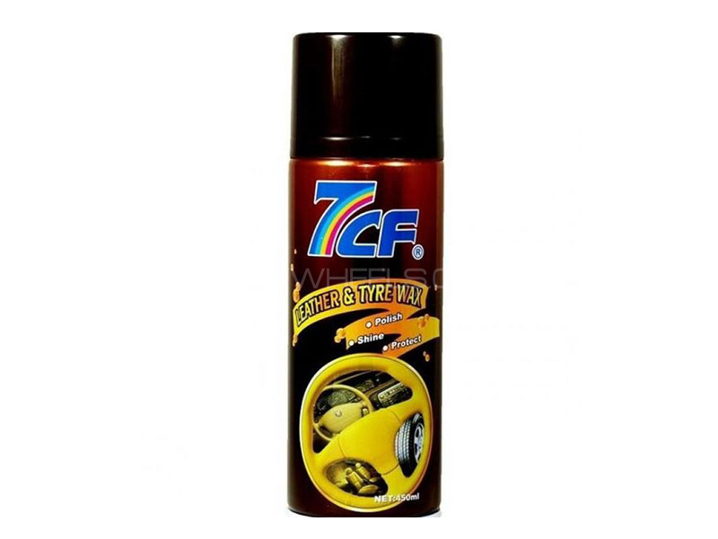 7CF Leather & Tyre Wax - 450ml in Lahore