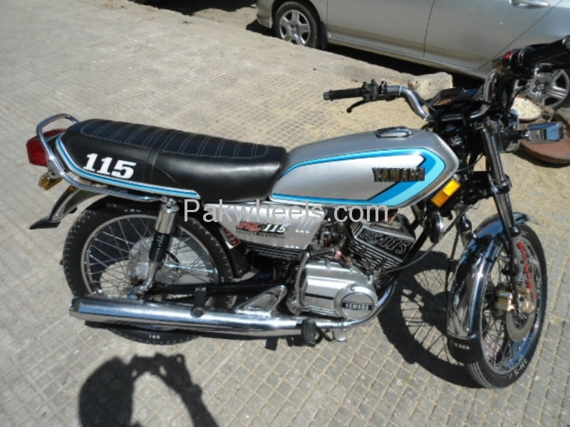 Used yamaha rx 115 1982 bike for sale in karachi 101652 for Yamaha rx115 motorcycle for sale