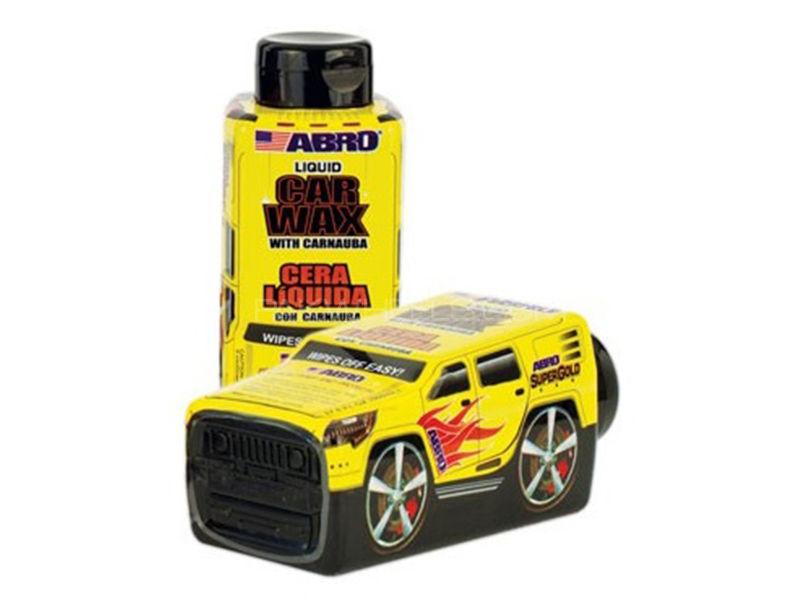 ABRO Car Wax - Car Shaped Bottle - 550 ml in Karachi
