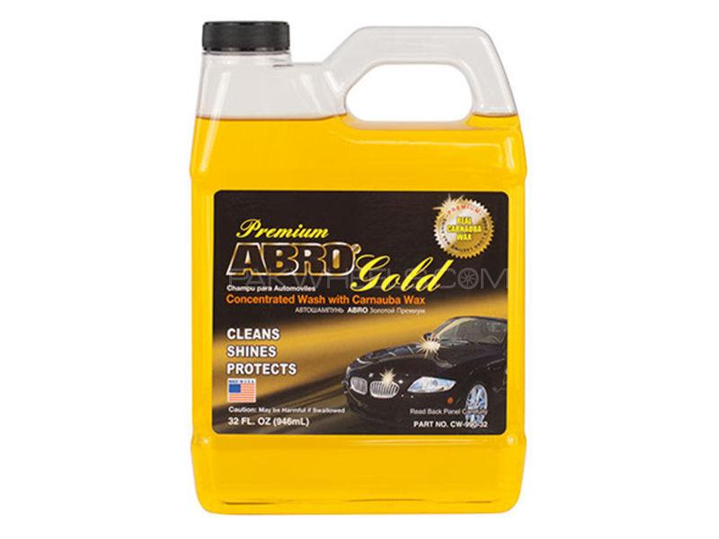 ABRO Shampoo Premium Abro Gold - 1 Litre Image-1