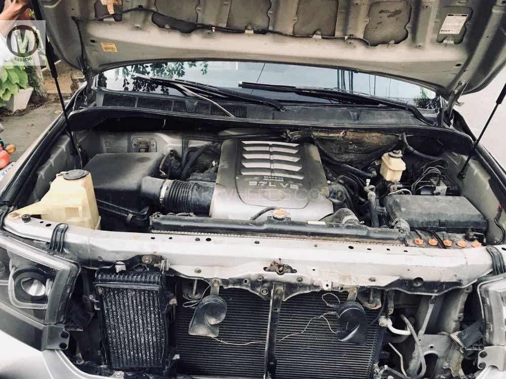 Toyota Tundra 2007 Model Registerd 2013 silver colour 5700cc  64000 km