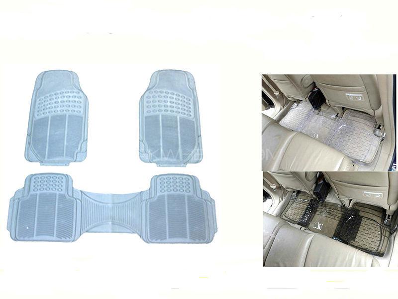 Universal 5 Pcs PVC Car Floor Mat in Lahore