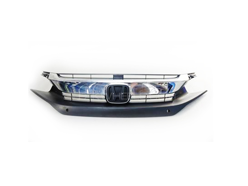 Honda Civic 2017-2018 Front Grill Chrome Taiwan in Lahore