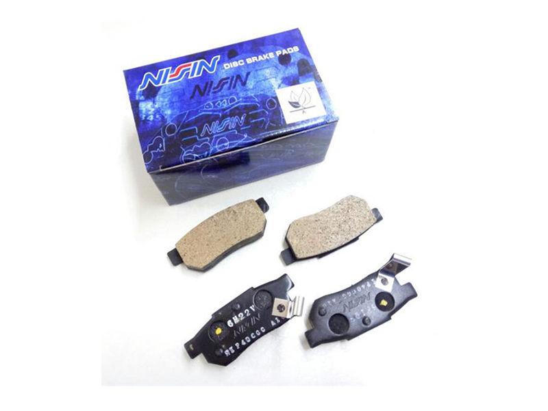 Honda Civic 2006-2012 Reborn Nissin Rear Brake Pads Image-1
