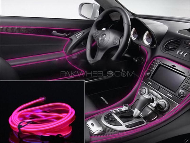 Neon EL Glow Wire For Interior - 2M Image-1