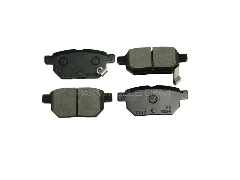 Toyota Prado 96-07 Genuine Rear Brake Pads 04465-60120 in Lahore