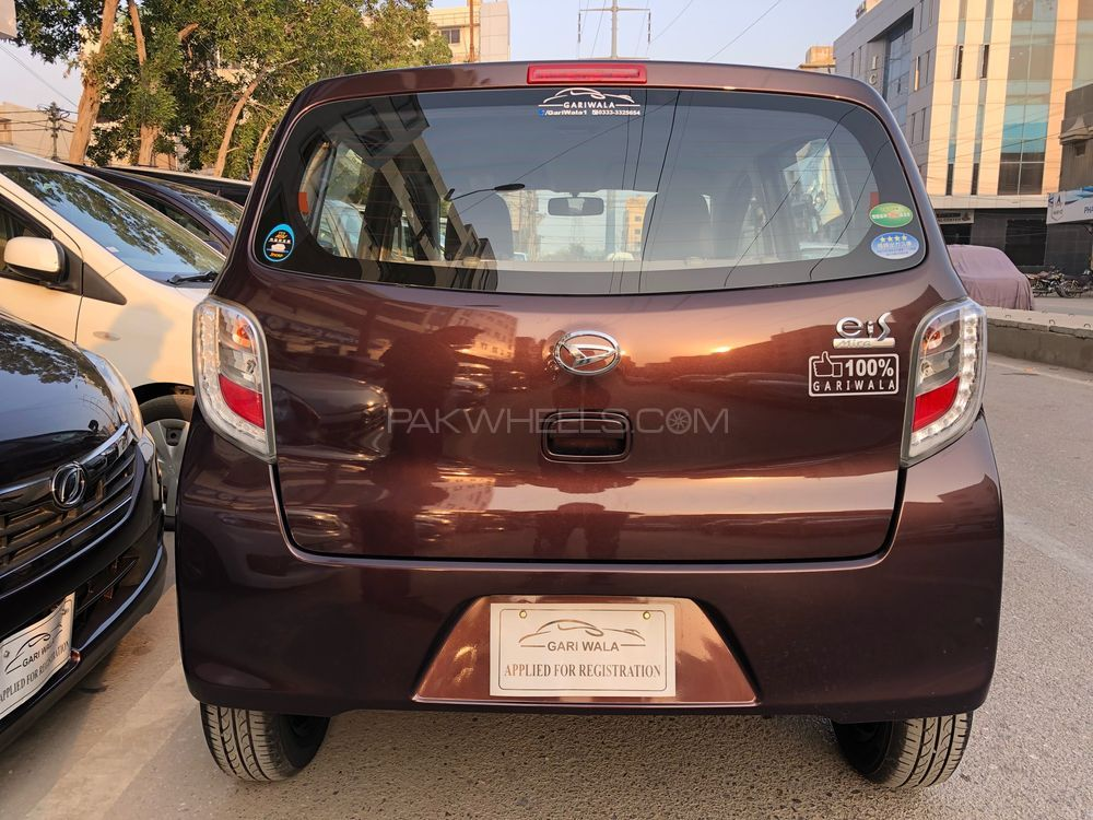 ®GARIWALA® Daihatsu Mira ES, 660C.c, Pearl Wine , Eco-Idle Stop Technology, L- Package,  Model 2016, Fresh cleared/import 2018, Original 5A-Grade Auction Sheet ( verifiable ), Original 2,950 K.M ( Verifiable ), Traction Control, Power Steering, Power Windows,  Safety Air-Bags, Original CD-Player,