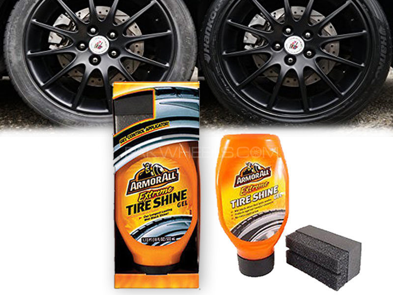 ARMORALL Extreme Tire Shine Gel With Applicator 18oz/532ml Image-1