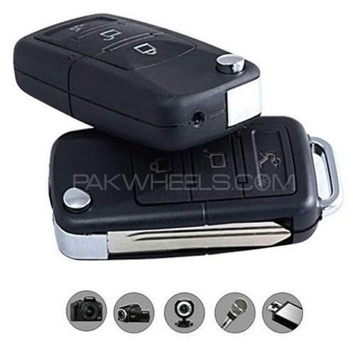 Mini Hidden Camera HD Night Vision Car Key Image-1