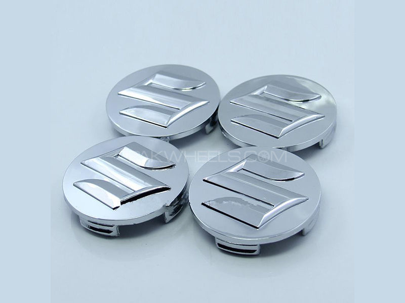Suzuki Alloy Wheel Cap Set Image-1