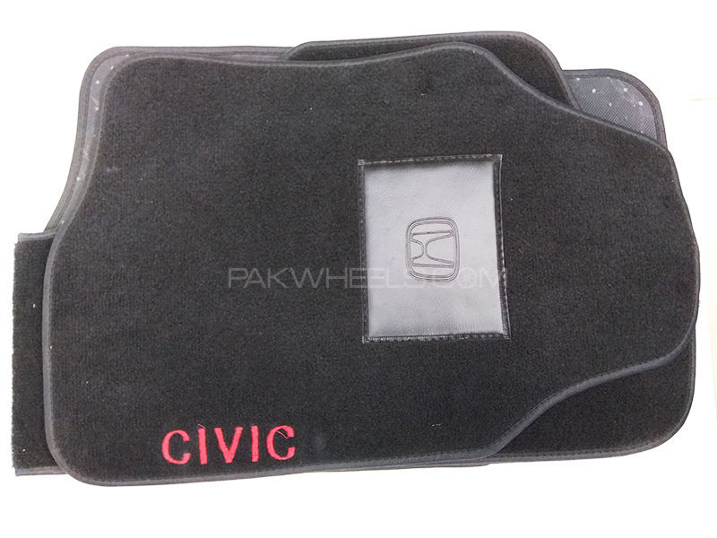 Carpet Floor Mat Honda Civic - 3 Pcs in Lahore