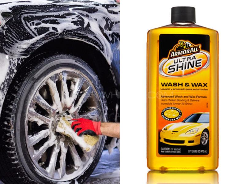 ARMORALL Ultra Shine Wash & Wax 16oz/473ml Image-1