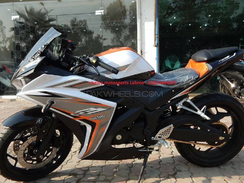 used yamaha yzf r3 2018 bike for sale in lahore 210227. Black Bedroom Furniture Sets. Home Design Ideas