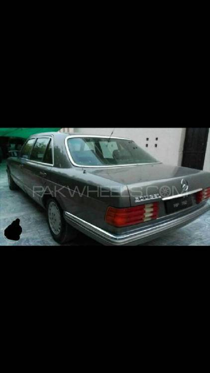 Mercedes Benz S Class 500SEL 1986 Image-1