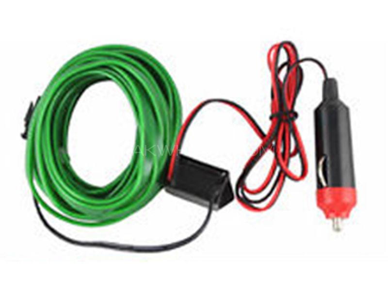 Universal EL Glow Wire - Green  in Karachi