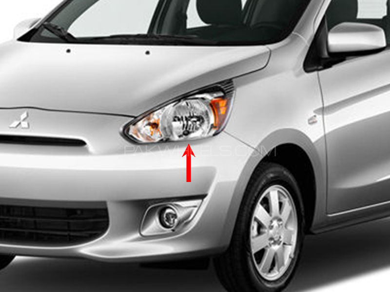 Mitsubishi Mirage Head Lamp 2014 - 1 Pc LH in Lahore