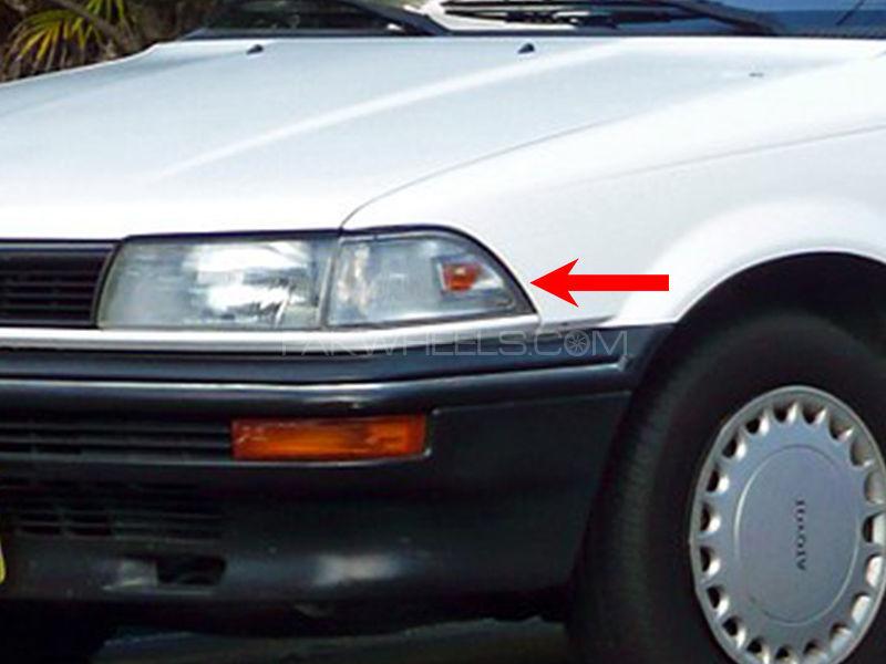Toyota Corolla TYC Parking Lamp 1989 - 1 Pc LH Image-1