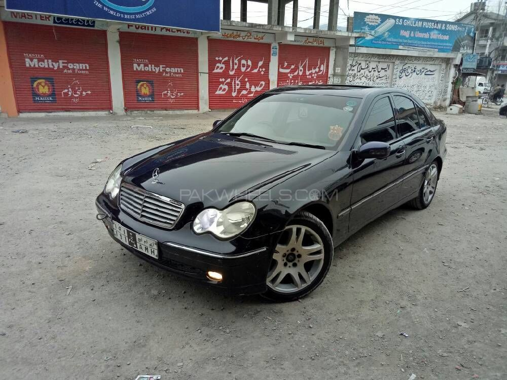 mercedes benz c class c180 2004 for sale in islamabad pakwheels. Black Bedroom Furniture Sets. Home Design Ideas