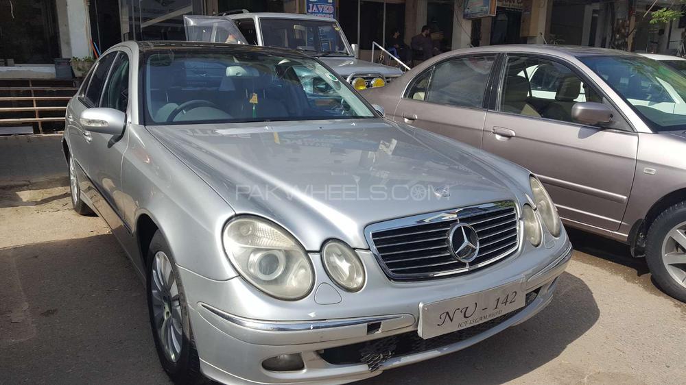 Mercedes Benz E Class E270 CDI 2004 Image-1