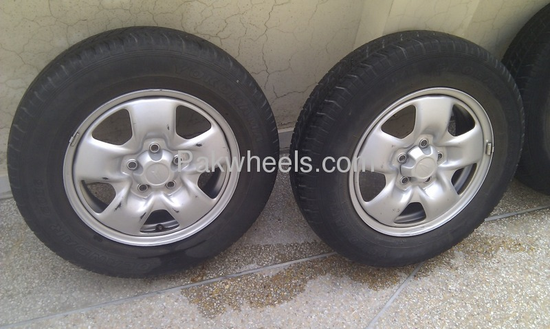 japanese tyres rims for jeep potohar terios kid mini pajero etc  yokohama 175  80 15inch for sale