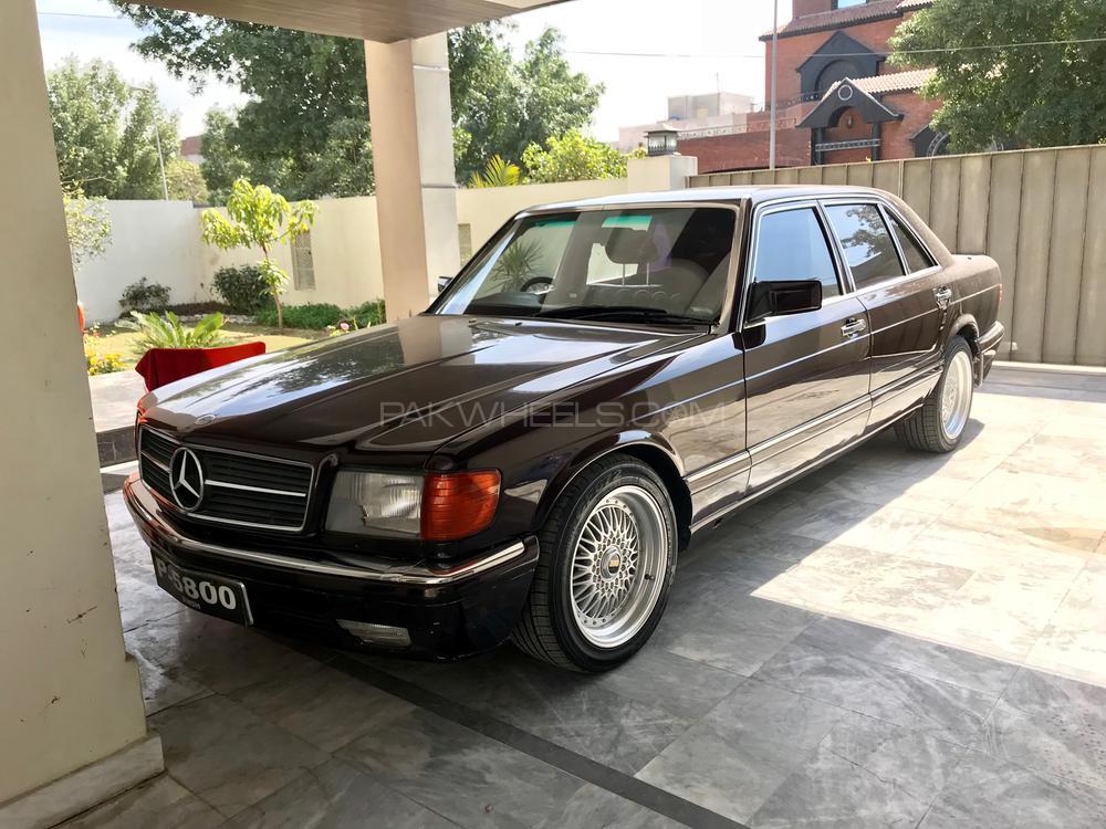 Mercedes Benz S Class 300SEL 1987 Image-1