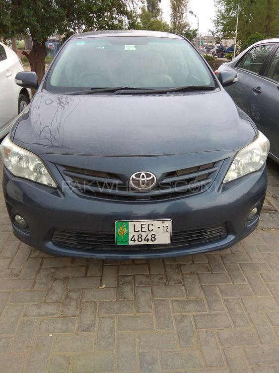 Toyota Corolla Altis Cruisetronic 1.6 2012 Image-1