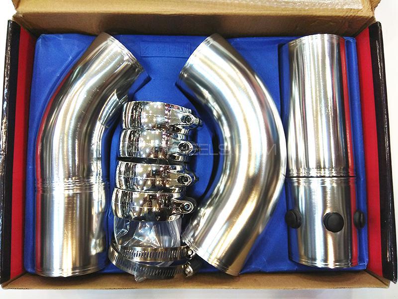 Universal Adjustable Intake Pipe Kit Image-1