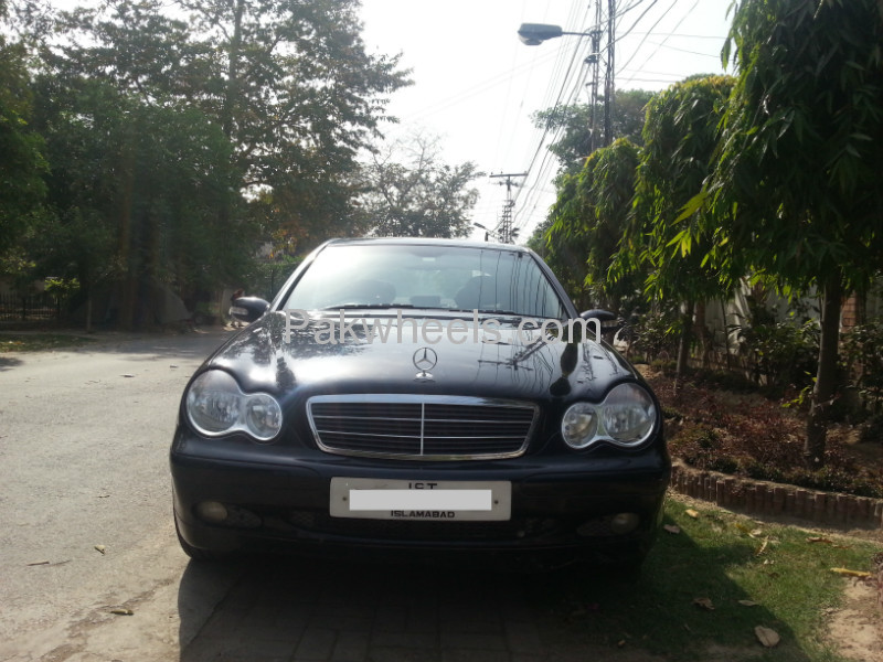 mercedes benz c class c200 cdi 2004 for sale in lahore pakwheels. Black Bedroom Furniture Sets. Home Design Ideas