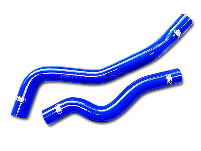 Samco Hoses For  Evolution 456 - Blue Image-1