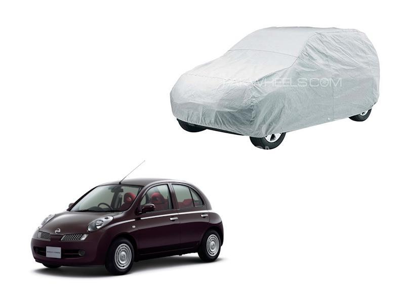 Parachute With PVC Coating Top Cover For Nissan March in Lahore