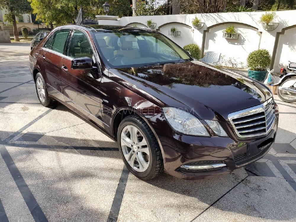Mercedes Benz E Class E250 2012 Image-1
