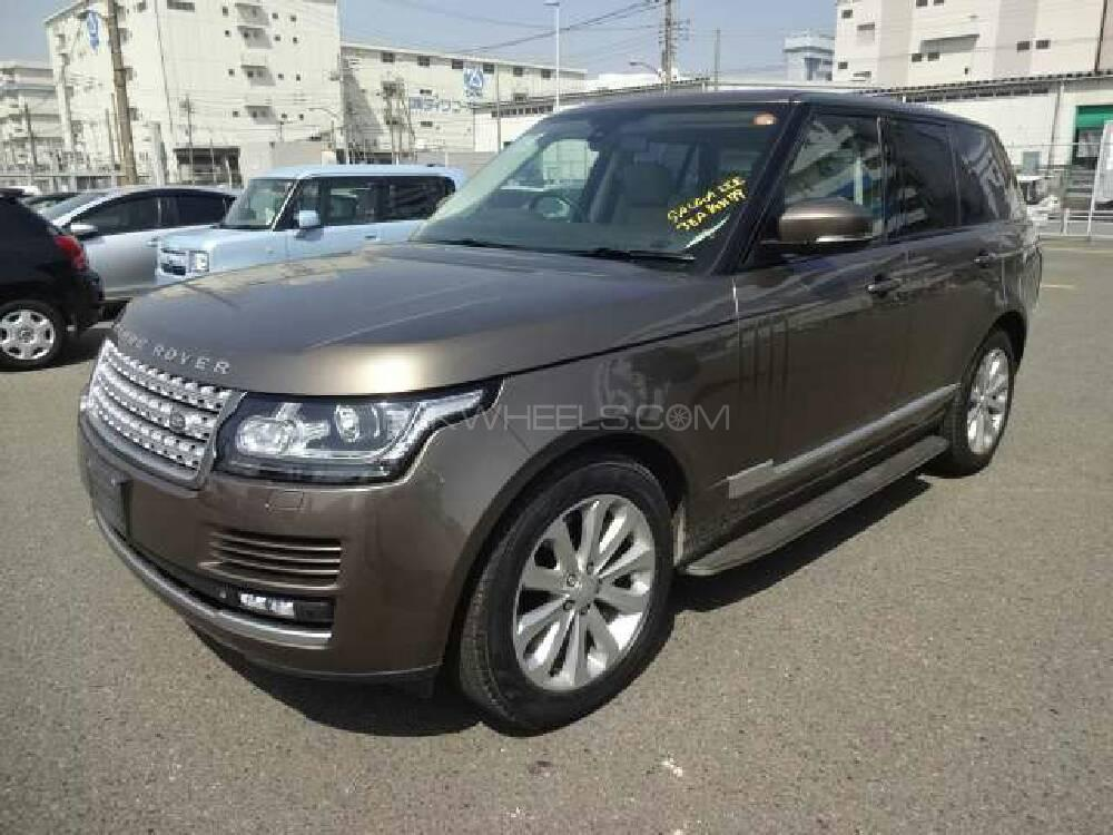 Range Rover Vogue Supercharged 5.0 V8 2013 Image-1