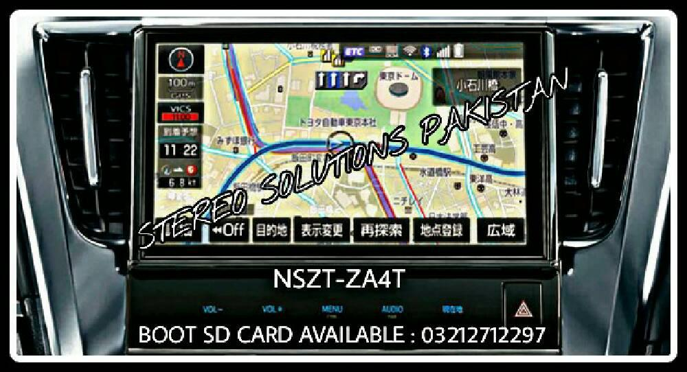 NSZT-ZA4T SD CARD  AVAILABLE