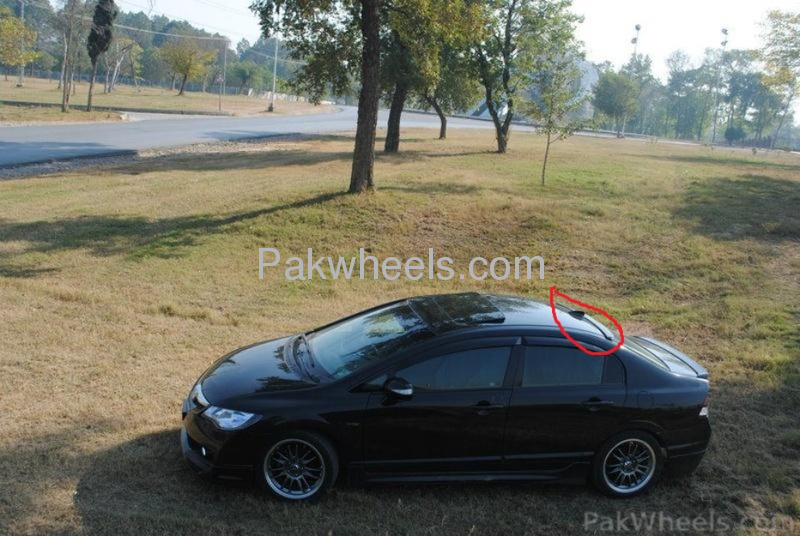honda civic reborn roof spoiler for sale  for sale in lahore
