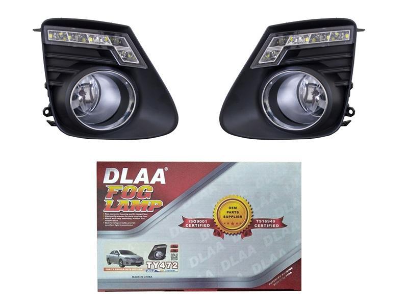 Toyota Corolla 2012-2016 DLAA LED Fog Lamp Cover - TY472 Image-1