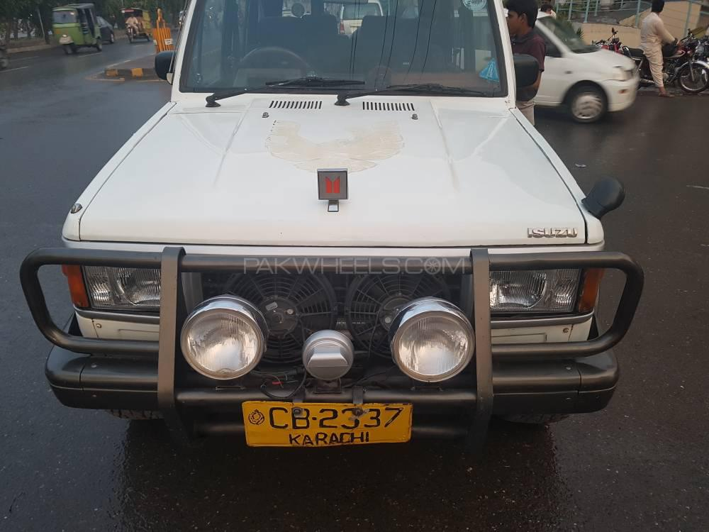 Isuzu Trooper 1989 for sale in Lahore | PakWheels