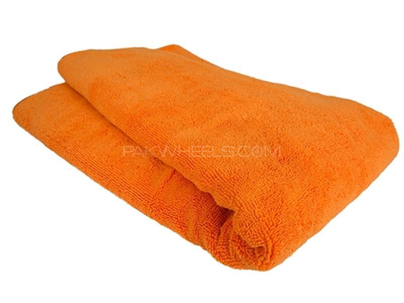 Micro Fiber Towel - Orange in Karachi