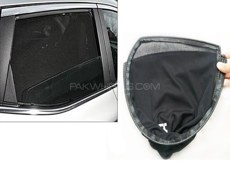 Foldable & Flexible Sun Shades For Toyota Vitz 2012 Image-1